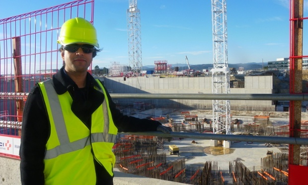 Alok Jha at the Cadarache nuclear facility in Provence where Iter, the most sophisticated, expensive machine ever to be built, is slowly taking shape.