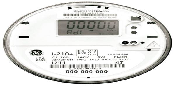 smart meter face
