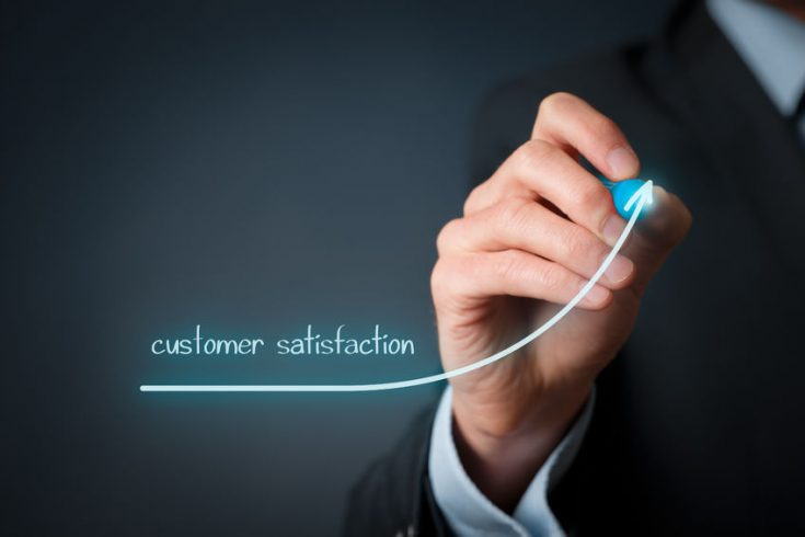 Utilities in the US increase customer satisfaction by 10 points