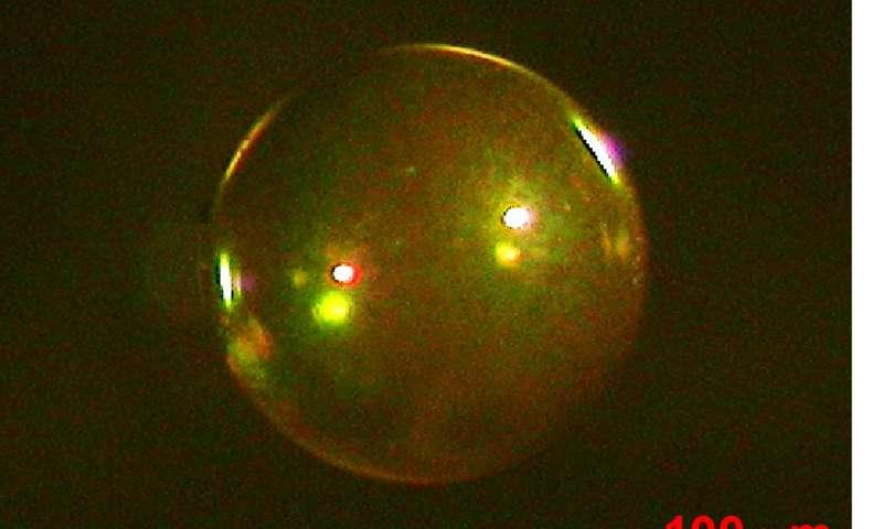 Diamond capsules improve performance of laser fusion