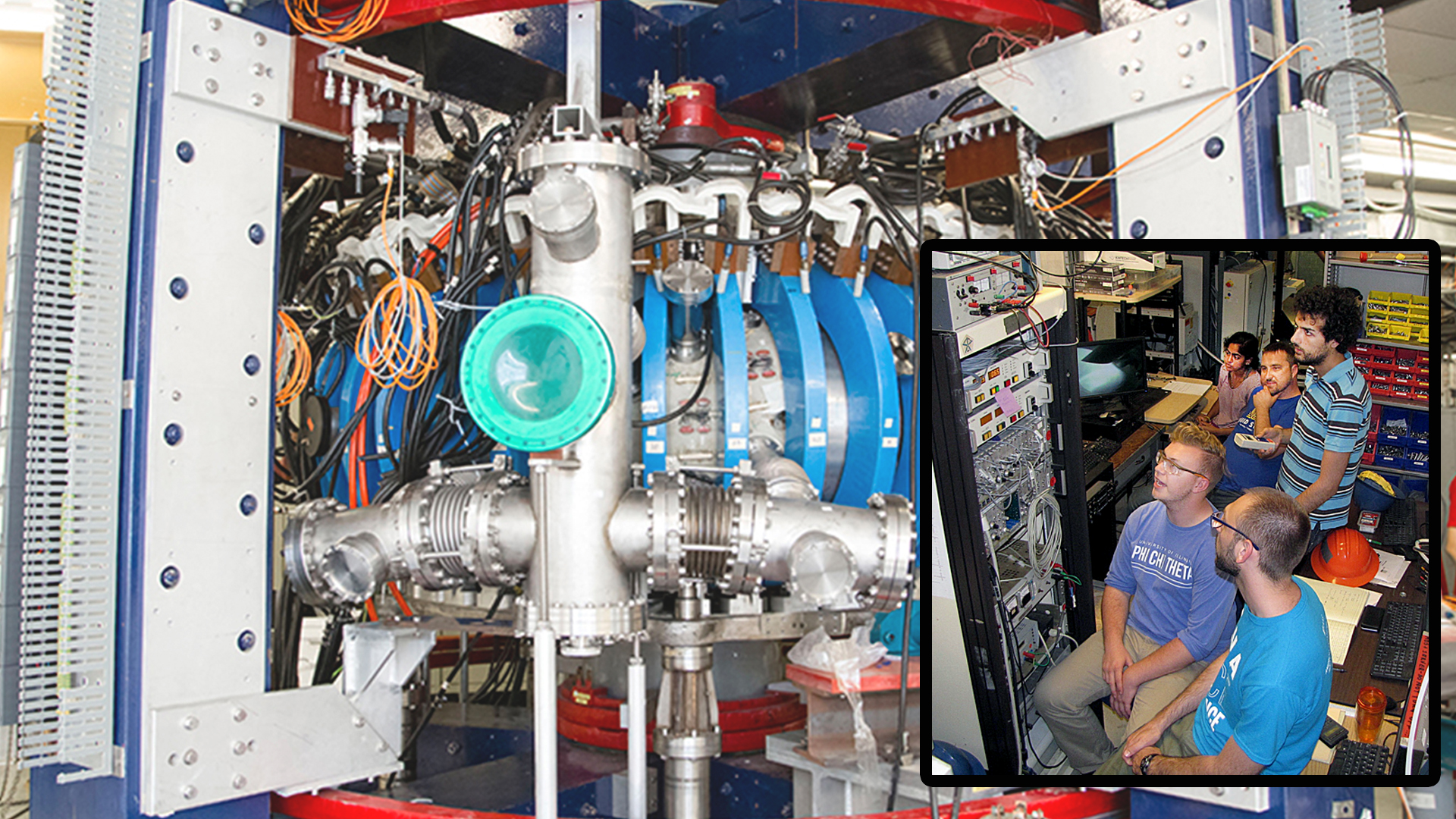 CPMI researchers prepare HIDRA to test liquid lithium fusion reactor experiments