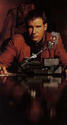 Deckard with Voight-Kampf machine