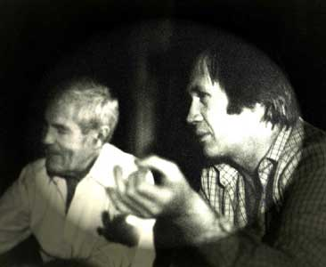 Timothy Leary and Caine