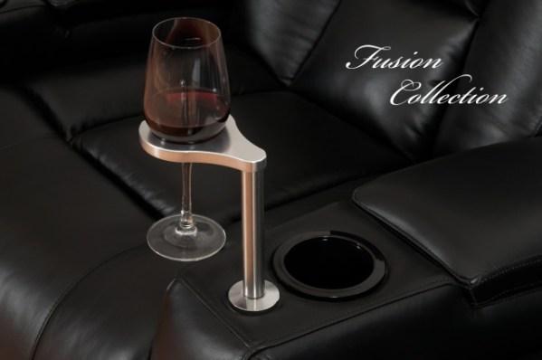 Wine Glass Holder w/glass of wine