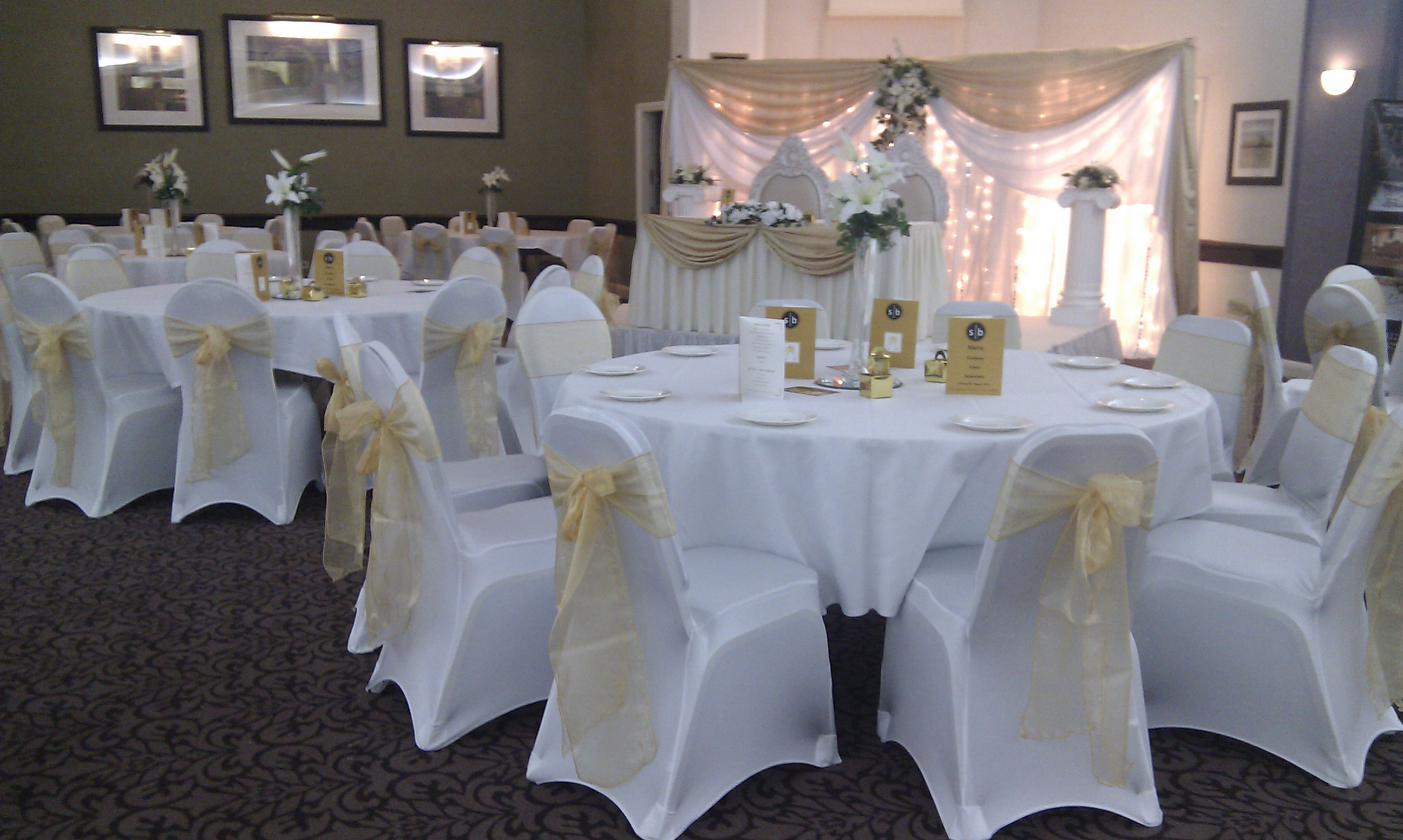 used wedding chair covers for sale uk baby room fusion decor