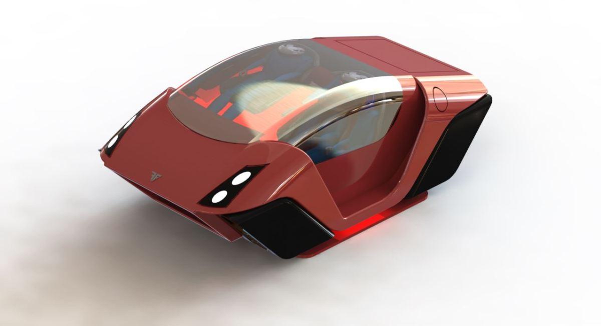 Axion: Jet-powered VTOL Human Transport