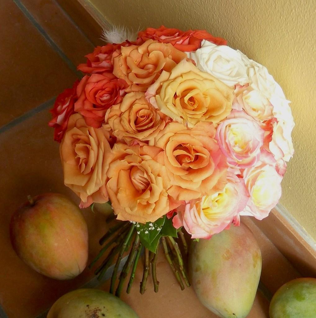 Ombre bridal bouquet