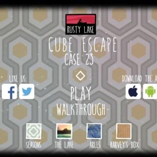 Cube escape Case 23 прохождение