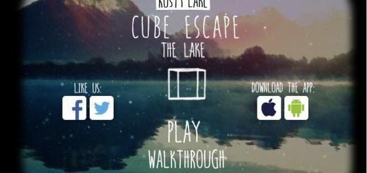 Cube escape: The lake прохождение