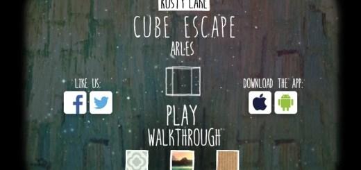 Cube escape Arles прохождение.
