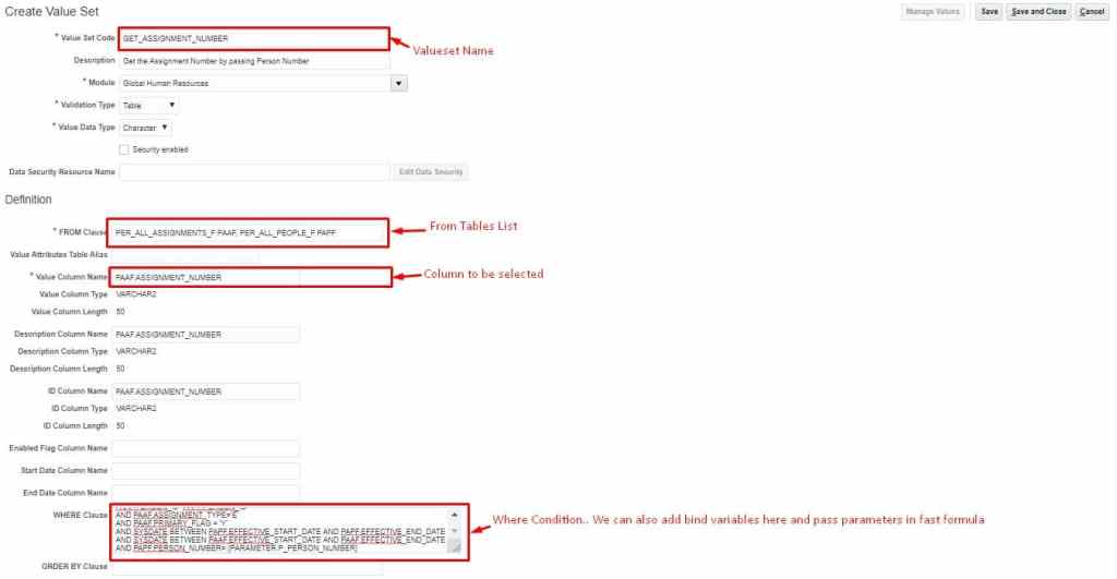 table based valueset in fusion hcm used in fast formulas and payroll flows using sql query. most widely used