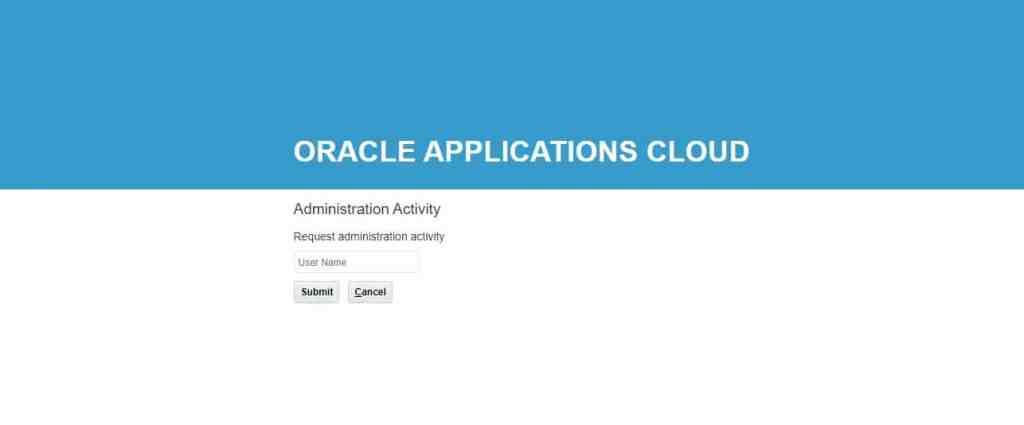 Disabling Single Sign on or LBAC in Fusion HCM oracle hcm cloud security administrator