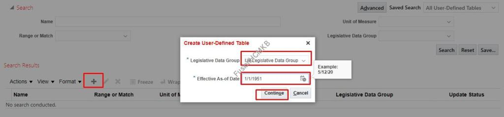 Creating User Defined Table Fusion User Table FF_USER_COLUMNS FF_USER_ROWS_F get_table_value oracle apps user tables Oracle hcm cloud