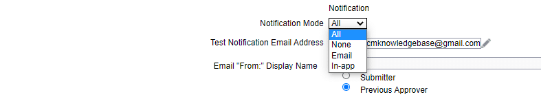 Override Notification Email Address in HCM Cloud
