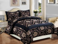 LUXURY BEDSPREAD 3PCS JACQUARD BEDSPREAD QUILTED BED ...