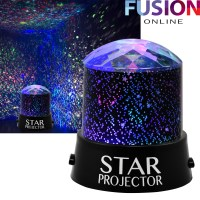 NEW STAR PROJECTOR NIGHT LIGHT SKY MOON LED PROJECTOR MOOD ...