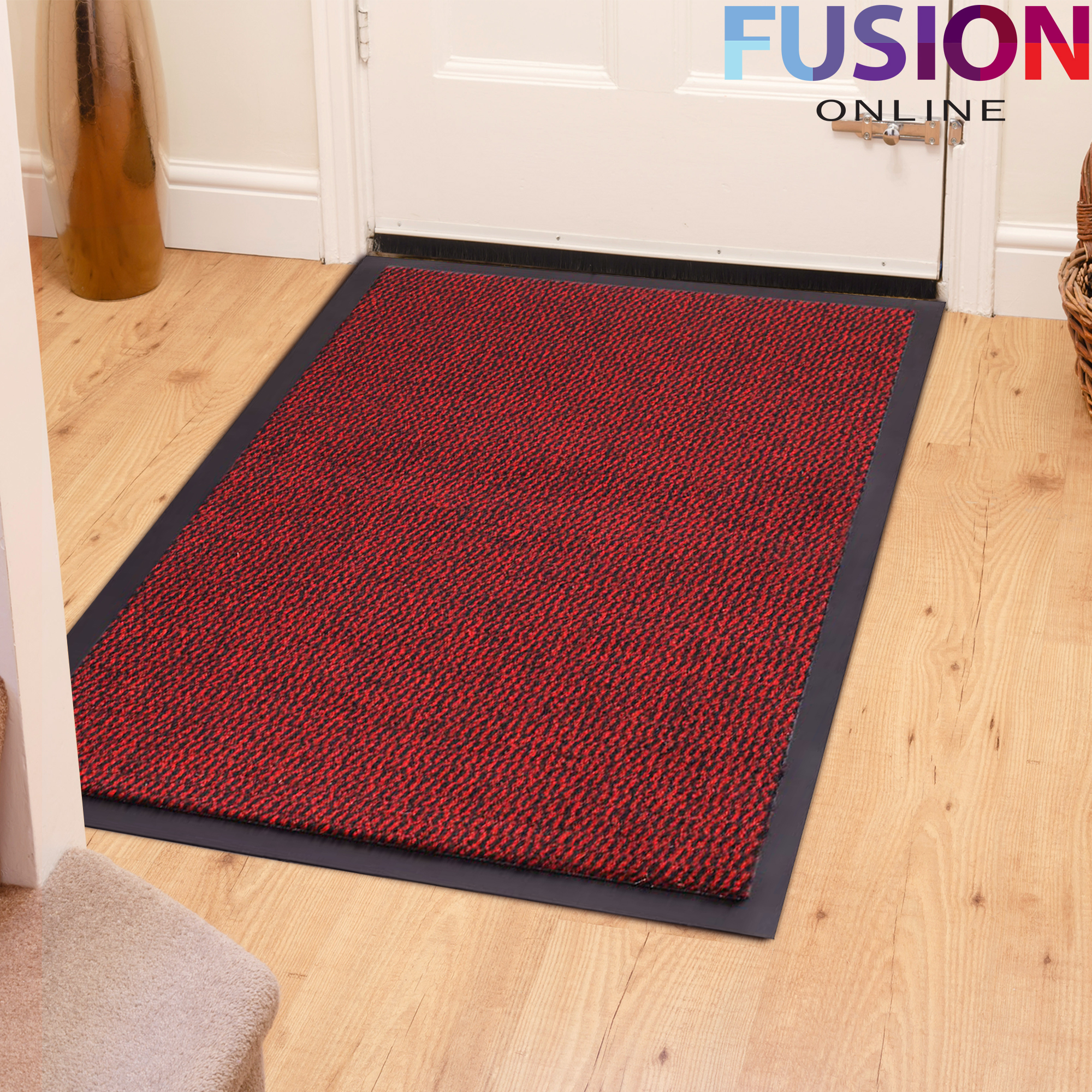 non slip kitchen rugs 6 piece table sets heavy duty rubber barrier mat large and small
