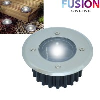 LED SOLAR POWERED DECK LIGHTS DECKING GARDEN DRIVEWAY ...