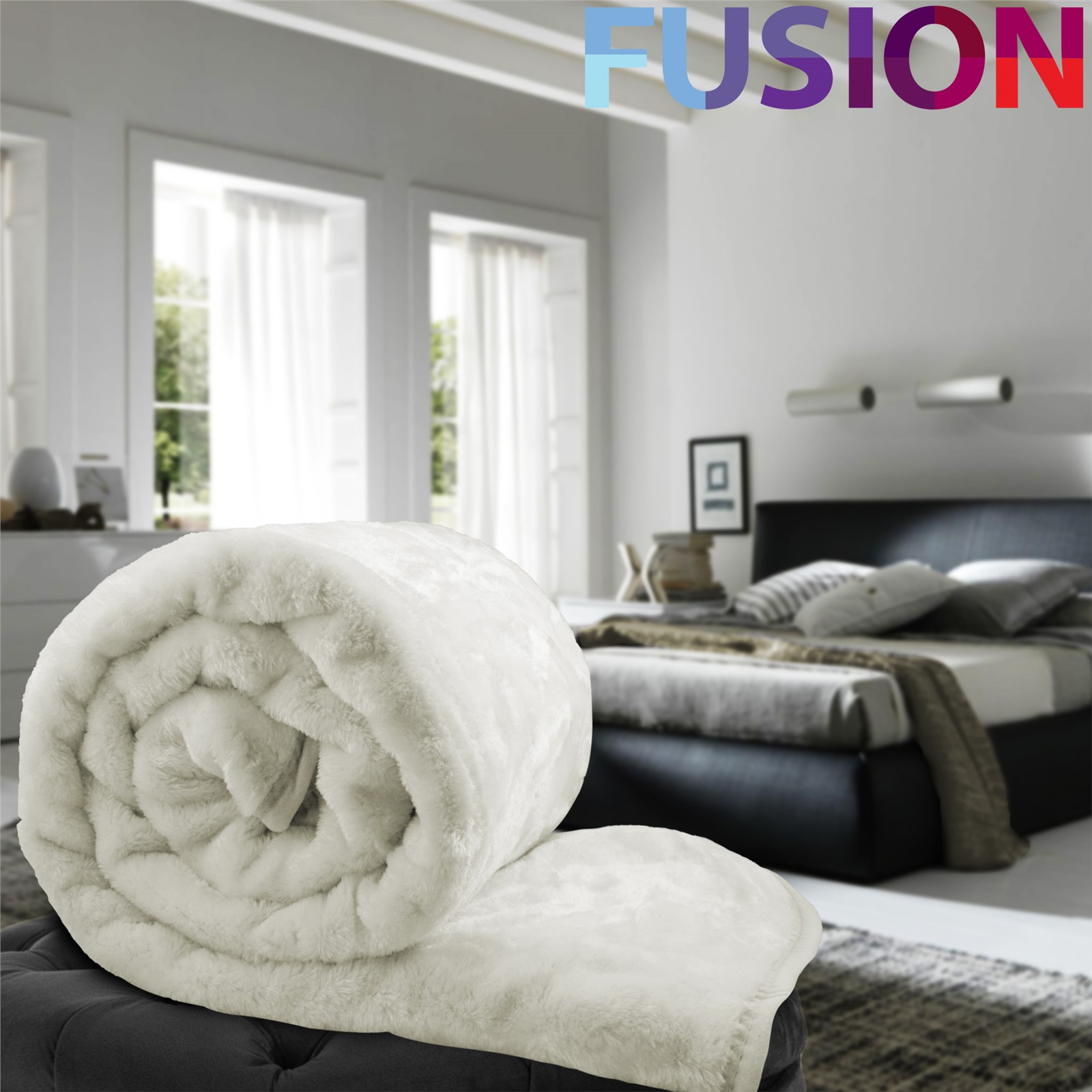cream sofa throws uk small sectional no chaise luxury faux fur mink throw soft warm fleece blanket double