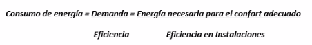 Formula eficiencia energetica
