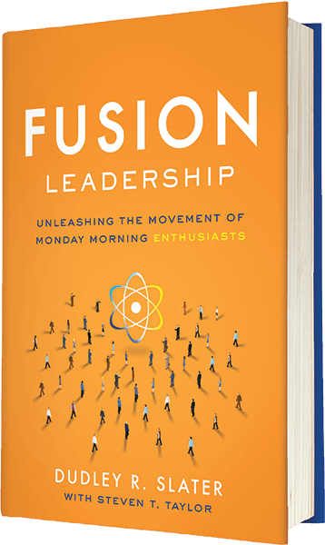 Fusion Leadership Book | Unleashing the movement of Monday morning enthusiasts