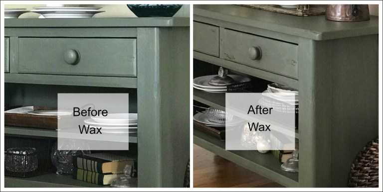 Wax on Wax Off  Fusion Mineral Paint