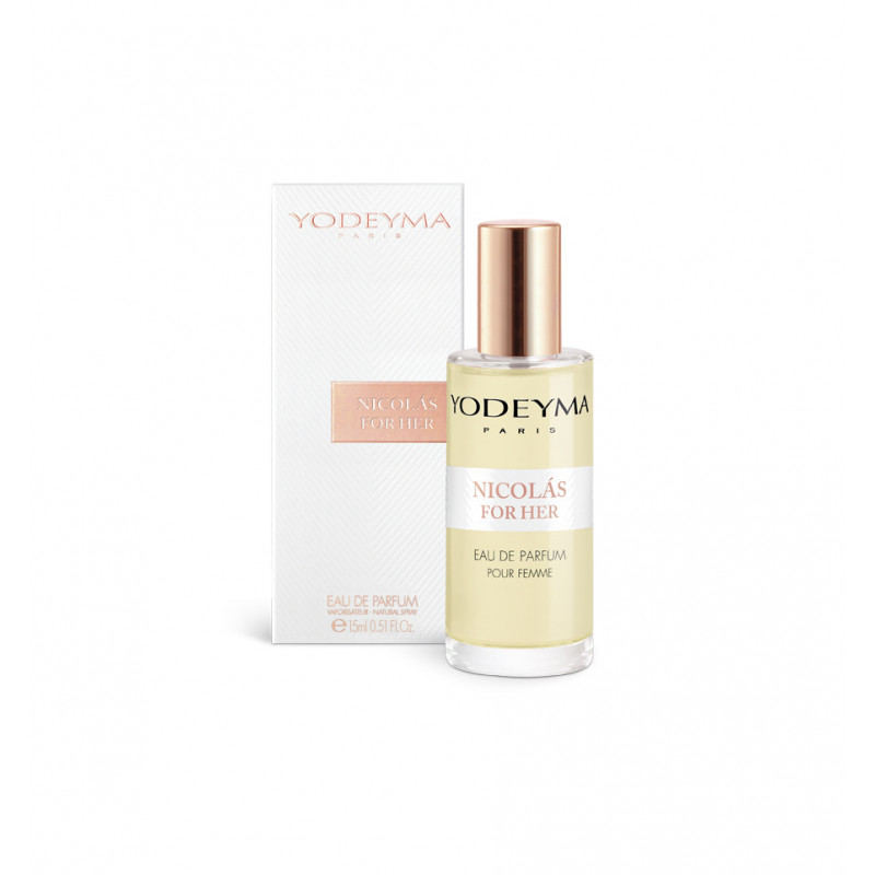yodeyma nicolas for her fragrance bottle 15ml