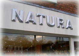 Natura Hazel Grove signage