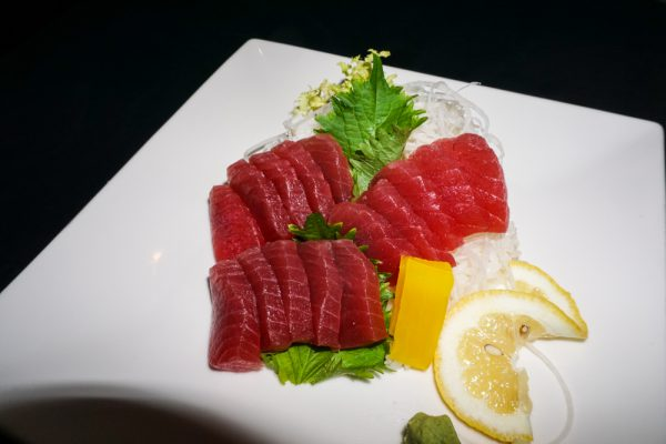 Tuna Sashimi Dinner