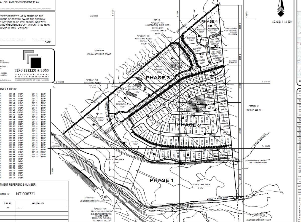 Land for sale, Commercial Land HoedspruitLimpopo Province