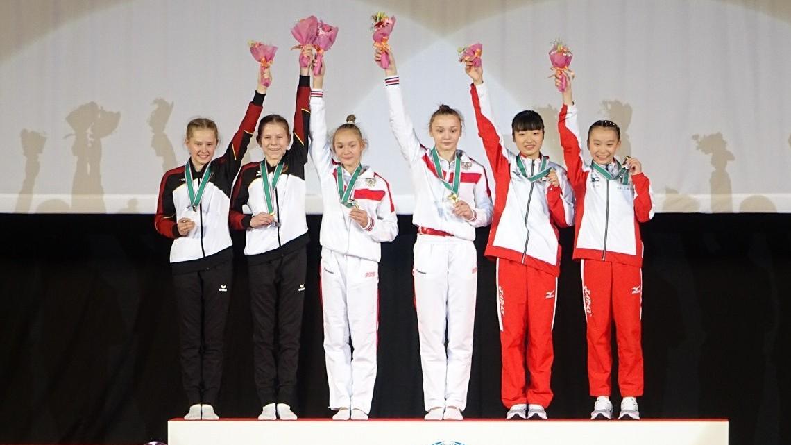 第27回世界年齢別トランポリンで初メダル!
