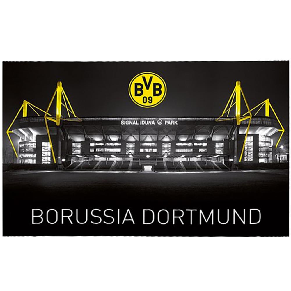 BVB Borussia Dortmund Fahne Zimmerfahne Flagge Signal