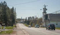Main Street, Doaktown, New Brunswick