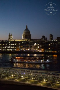 St Pauls and the Thames at Night