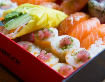 Sushi Shop London Box - excellent innovative sushi