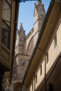 The majestic Cathedral of Palma de Mallorca