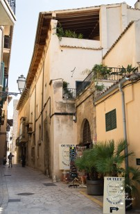 Typical Streets in Palma de Mallorca