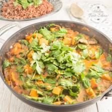 Riverford sweet potato peanut stew