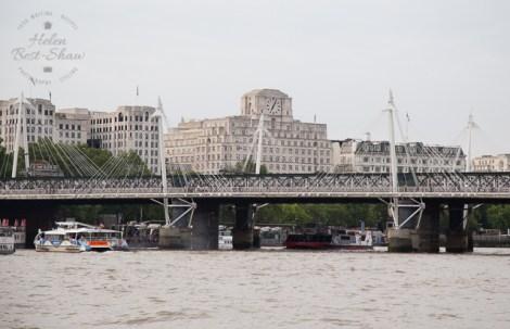 Cruise down The Thames - Embankment to Tower Bridge - The London Eye