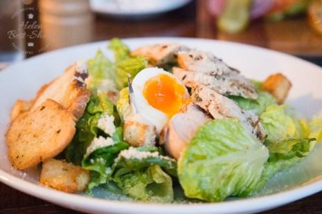 Food at The Trafalgar Tavern Greenwich, London