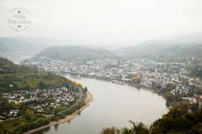 Boppard lies on the upper middle Rhine, by the famous Bopparder Hamm bend in the river. A charming town to stop and wander.