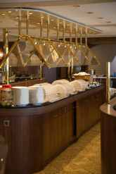Main dining room on Riviera Cruises MS Jane Austen