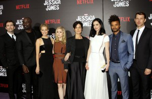'Jessica Jones' TV series premiere, New York, America - 17 Nov 2015