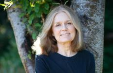 Gloria Steinem - feminist, journalist (New York magazine), co-founder of Ms. magazine, and social political activist. Recognized in the US as a leader and a spokeswoman for the national feminist movement