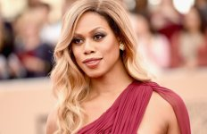 Laverne Cox - actress and LGBT advocate, first openly transgender person to be nominated for a Primetime Emmy Award in the acting category and the first to be nominated for an Emmy Award since composer Angela Morley in 1990