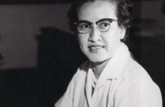 "Mathematician Katherine Johnson""s calculations of orbital mechanics led to successful U.S. manned spaceflights - She was 1 of the 3 people depicted in the movie Hidden Figures - credit NASA John Glenn"