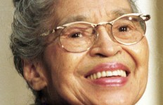 Rosa Parks, Activitist, US Congressional Gold Medal holder