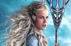 Aquaman Queen Atlanna with tridentNicole Kidman Character with trident