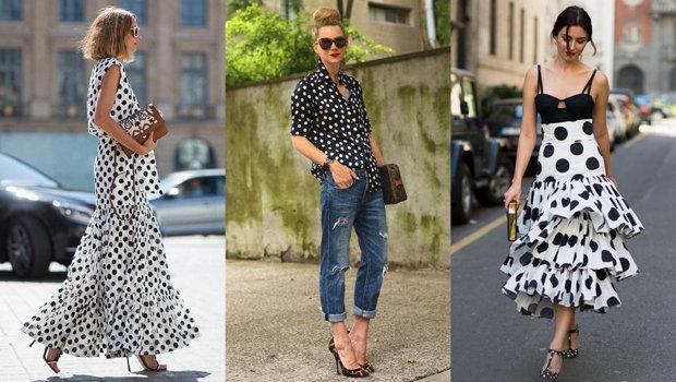 22 Ways To Wear Polka Dots For A Modern Ladylike Look