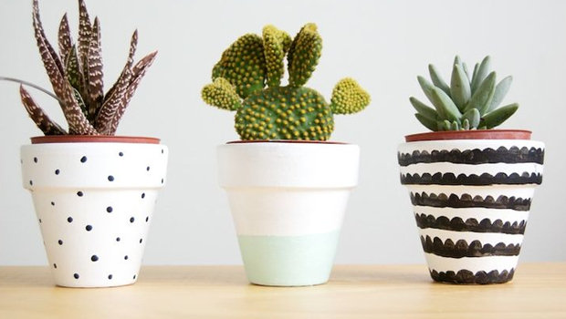 DIY Creative Ways To Decorate Flower Pots